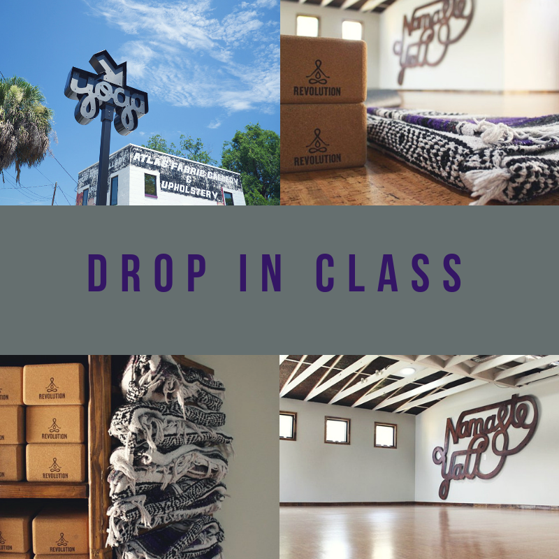 Best option for Yogi(ni)s who are visiting Savannah or only able to pop in for 1 class!