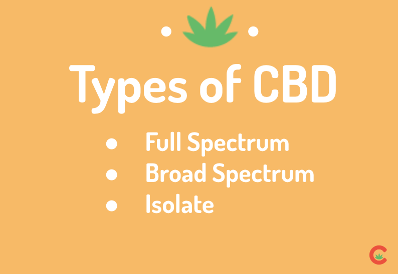 There's no doubt that sifting through all the new vocabulary that comes along with purchasing CBD can be dizzying. These are the types of CBD you're choosing between!