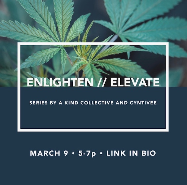 Our first-ever event!  Enlighten & Elevate.. oooh