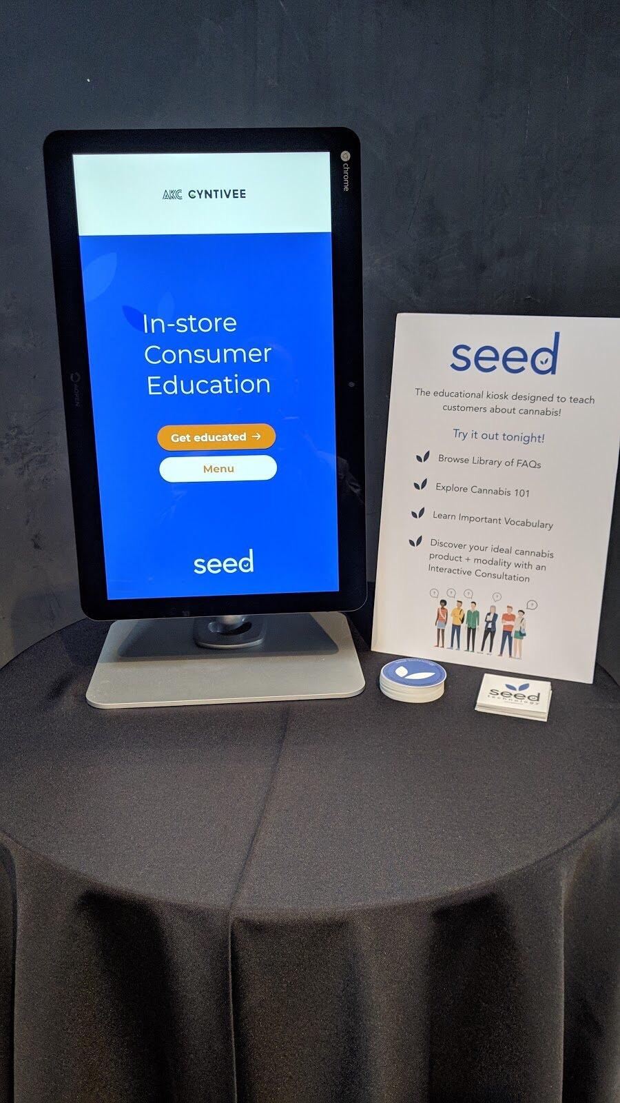 Seed Dispensary Kiosk