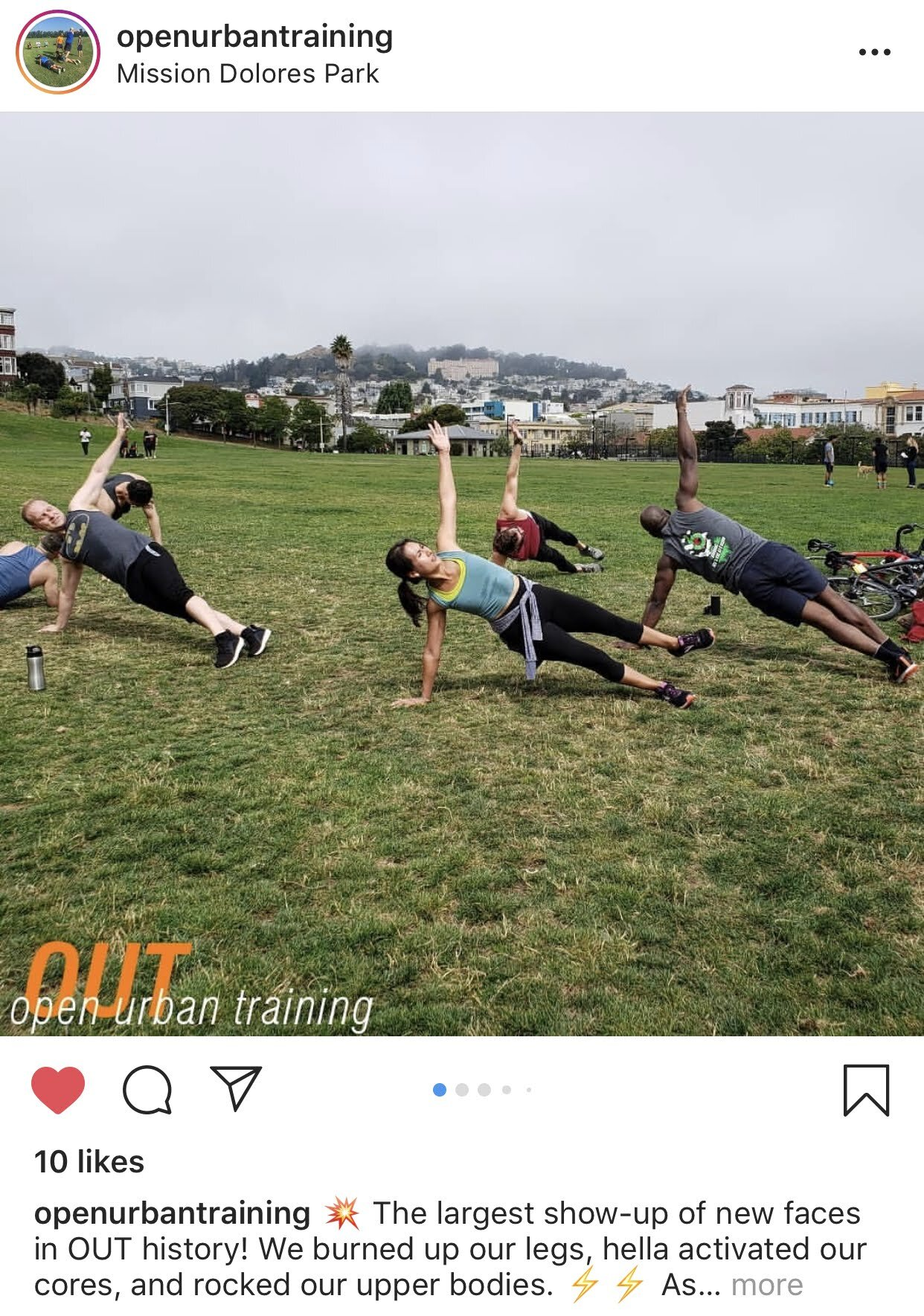 We've also had the chance to partner with, Open Urban Training: a free workout group led by the INCREDIBLE Josh Muñoz!