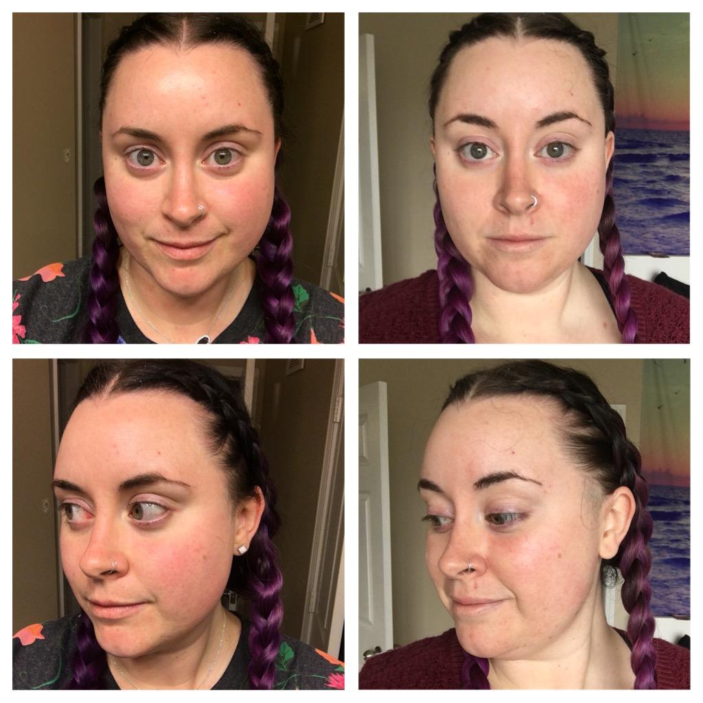 thatveganwife-blog-30-day-omega-challenge-beauty-progress-WEEK-2.JPG
