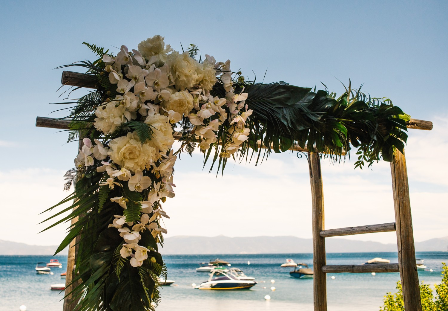 Tahoe Tropical - The Wedding of Kendra and Carl