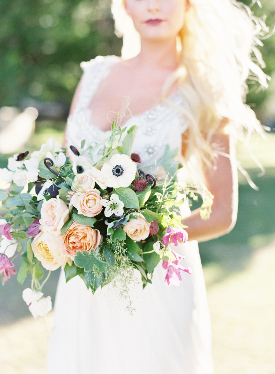 Crazy About Color - This Styled Shoot is for You