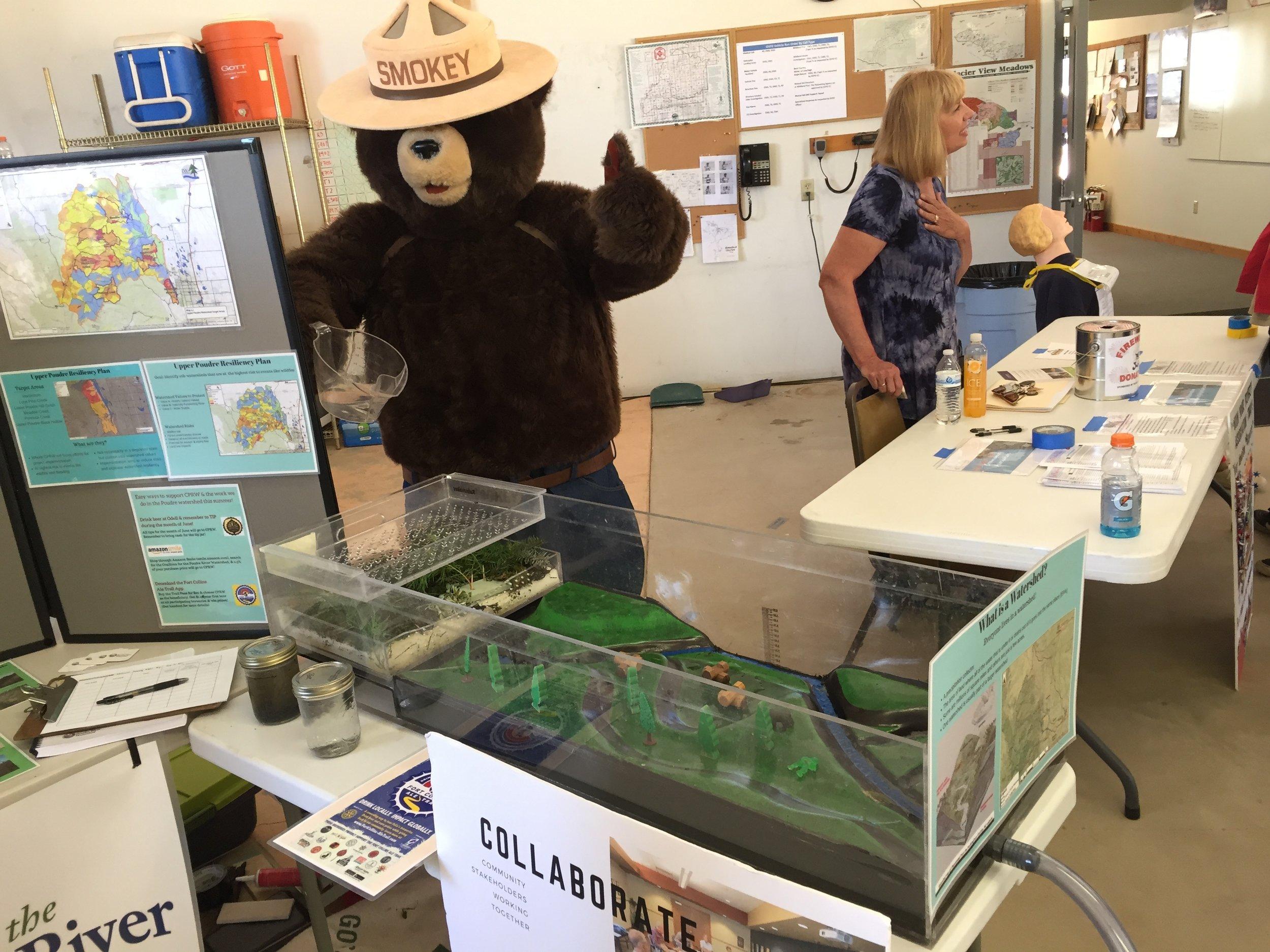 Smokey Bear-Watershed Table 1.JPG
