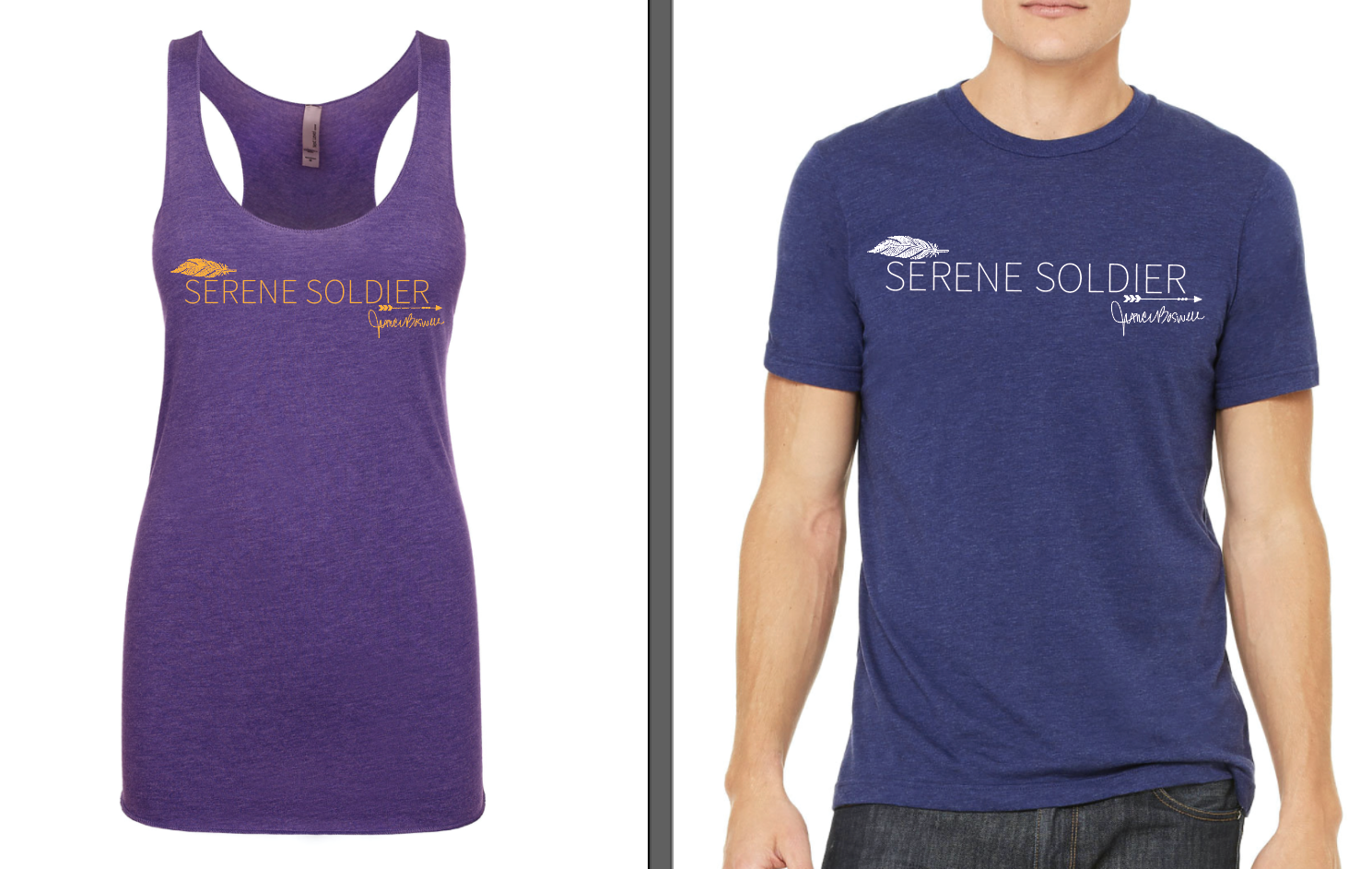 Hannah Eden Fitness - Hannah Eden Fitness has created a line of apparel in order to raise money indefinitely for the Serene Solider Foundation. CLICK HERE to get yours today!