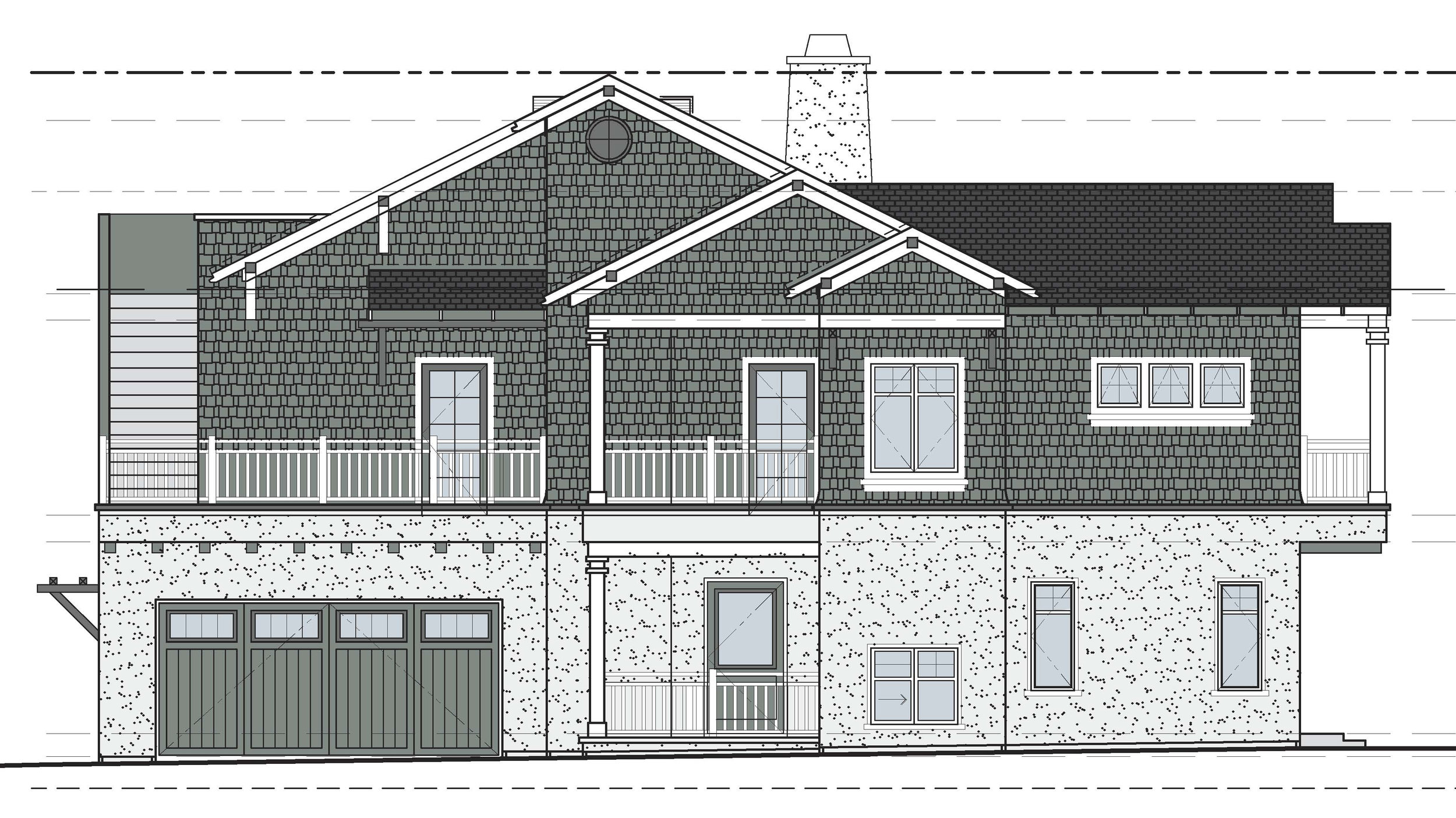 Plan lll - Location: Coronado, CAFloor Area: 7,800 SQ/FTStyle: Italian RenaissanceProject Type: Historic RenovationProject Completion: 2012