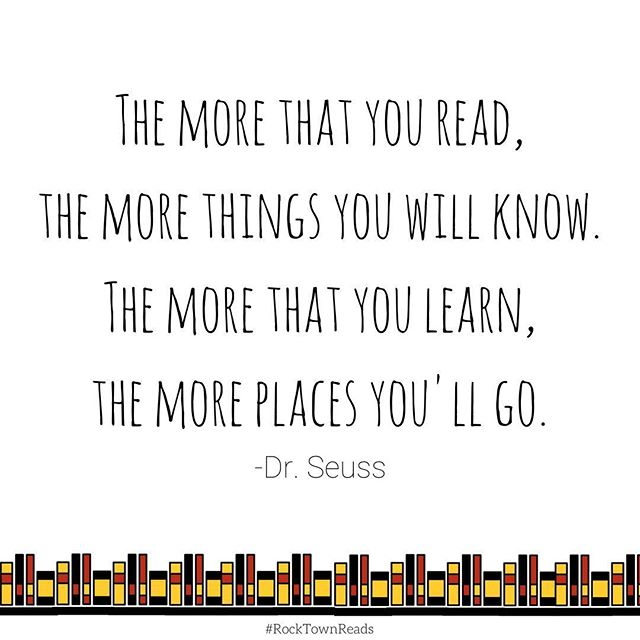 Where will reading take you? #rocktownreads