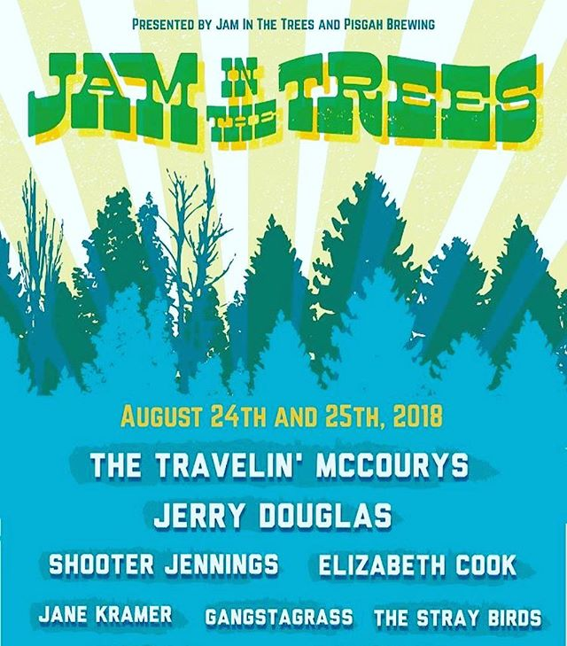 Heya Asheville music lovers (that's everyone in Asheville right?!)- Heres a friendly reminder that we'll be with you for @jaminthetrees this August- Grab those tix while they're hot!