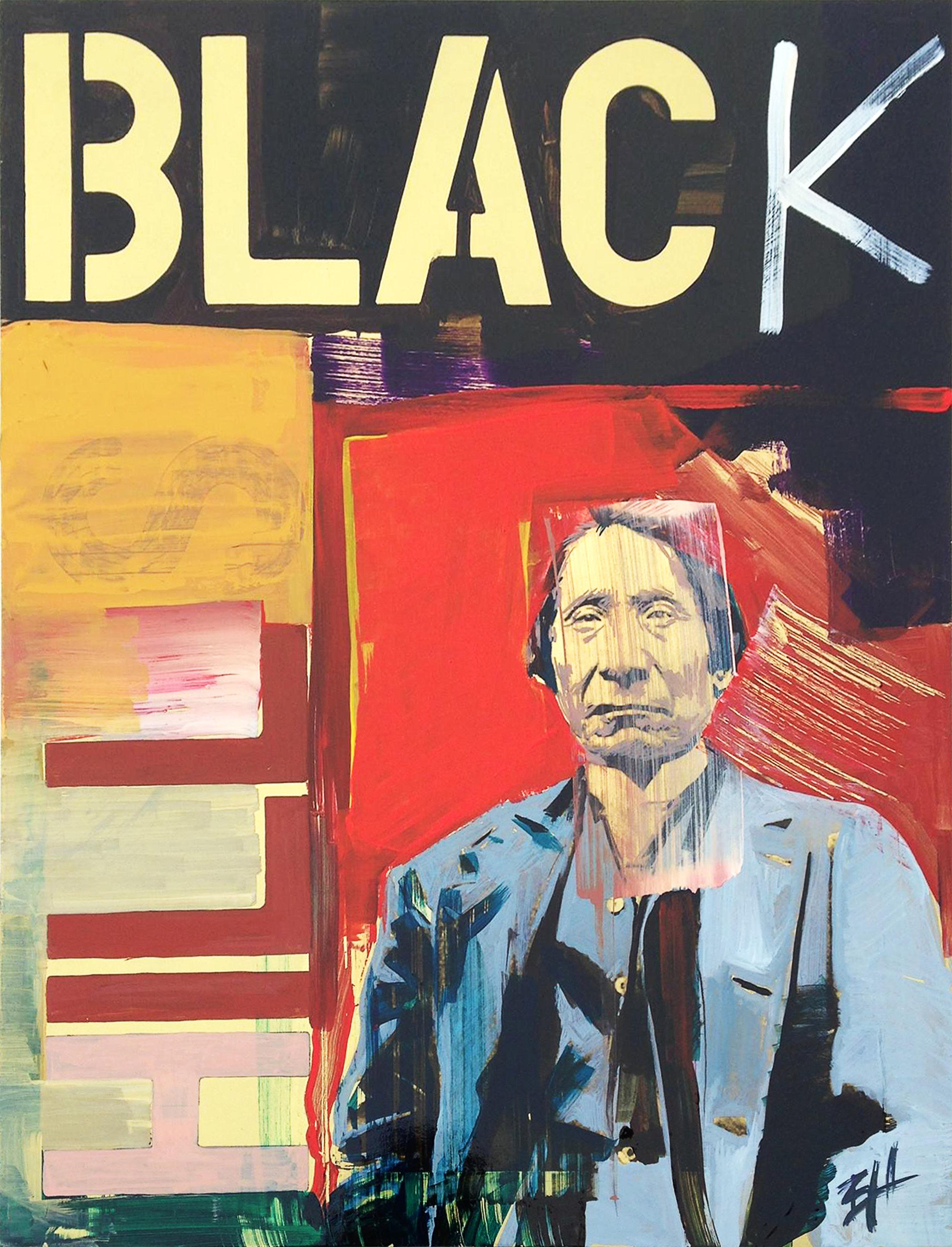 Black Hills  acrylic on canvas, dimensions,  2017