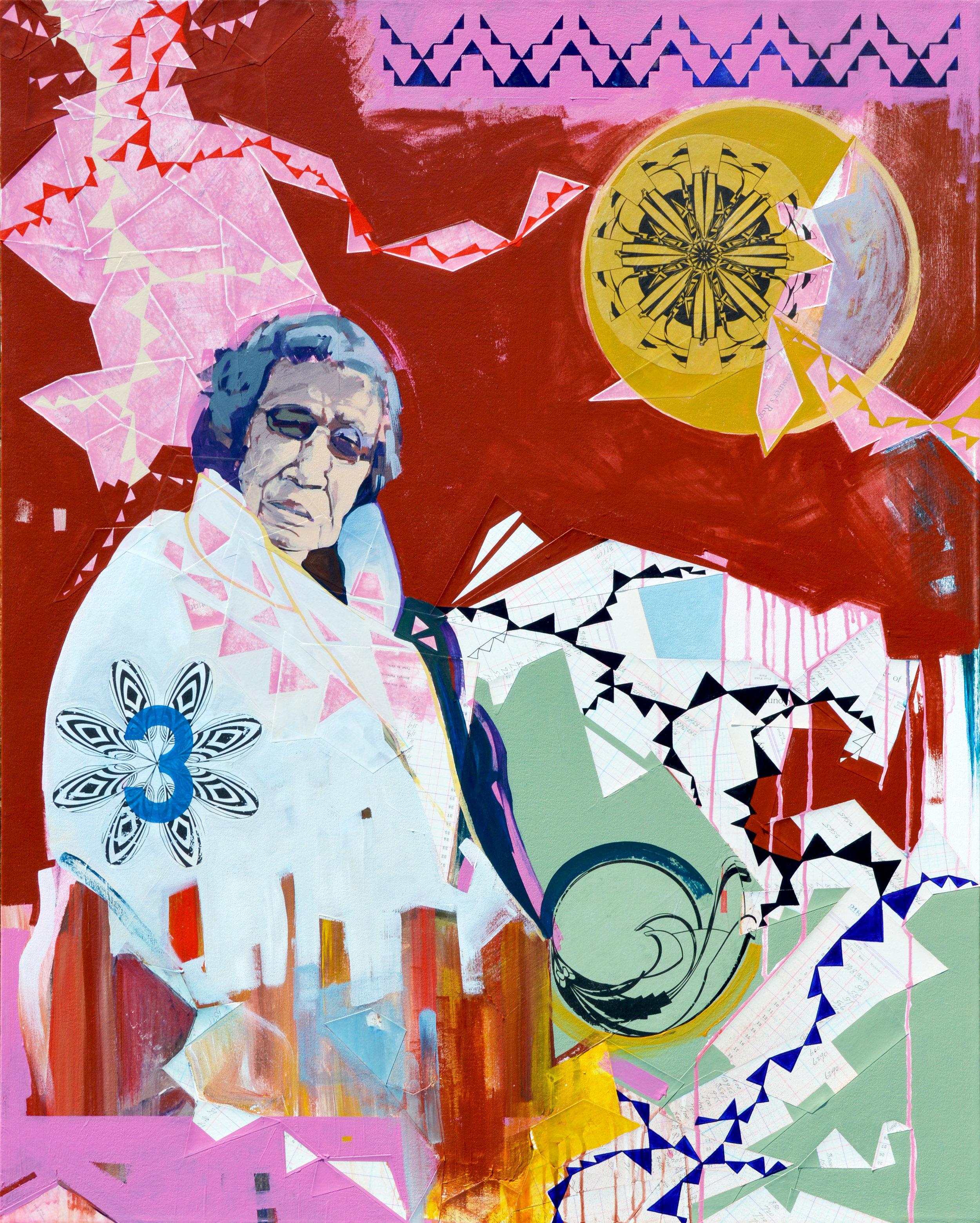 Yamni  acrylic on canvas, dimensions,  2017