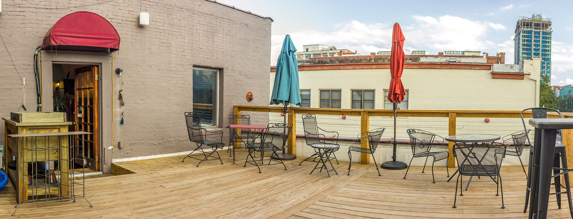 Planning an event? - Did you know you can rent the Willow's Dream rooftop patio?! It is a great space to enjoy the sites and sounds of downtown Asheville.