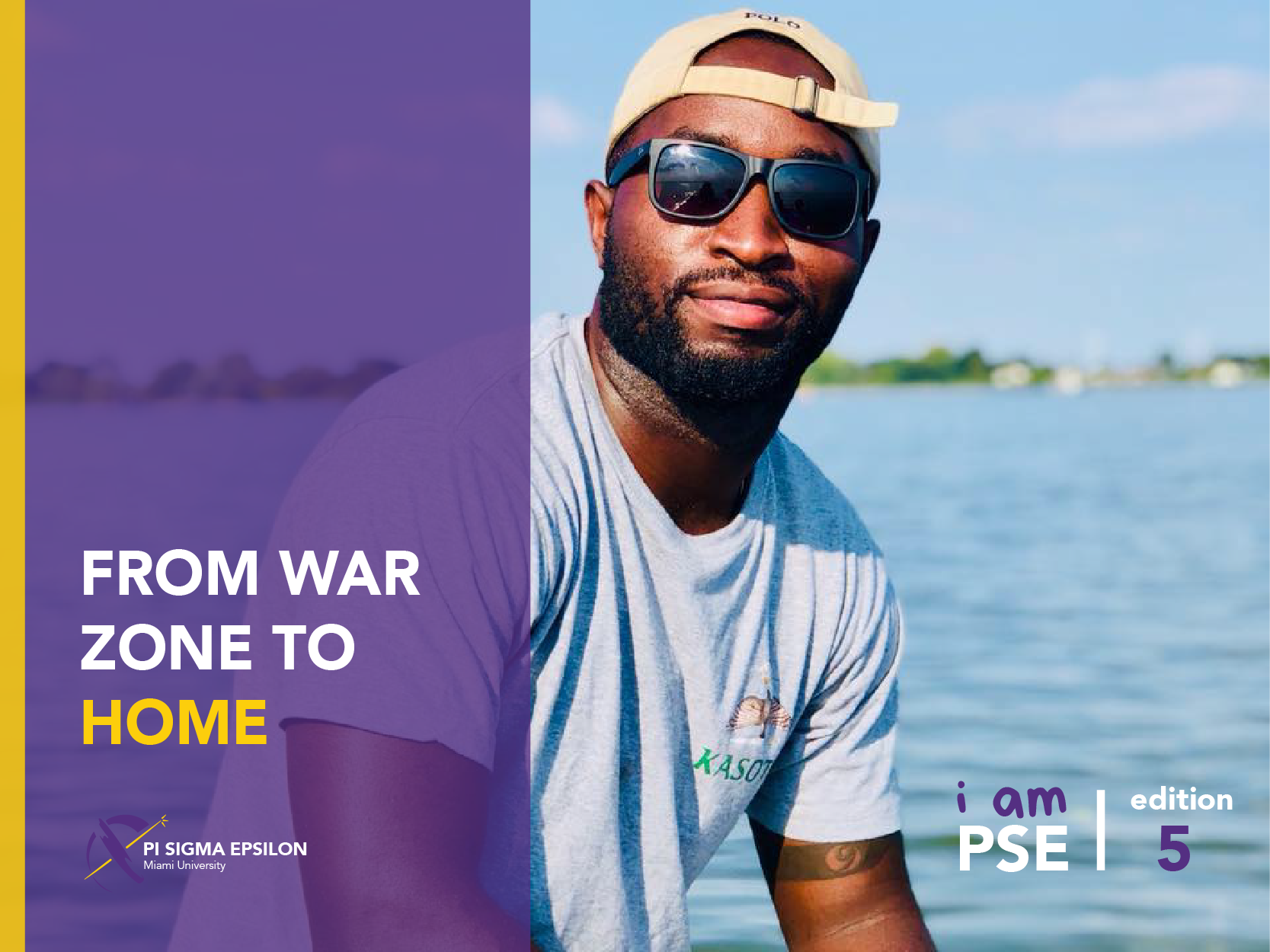 I AM PSE: From War Zone to Home - By: Saidi Wadesisi & Kathryn Brooks