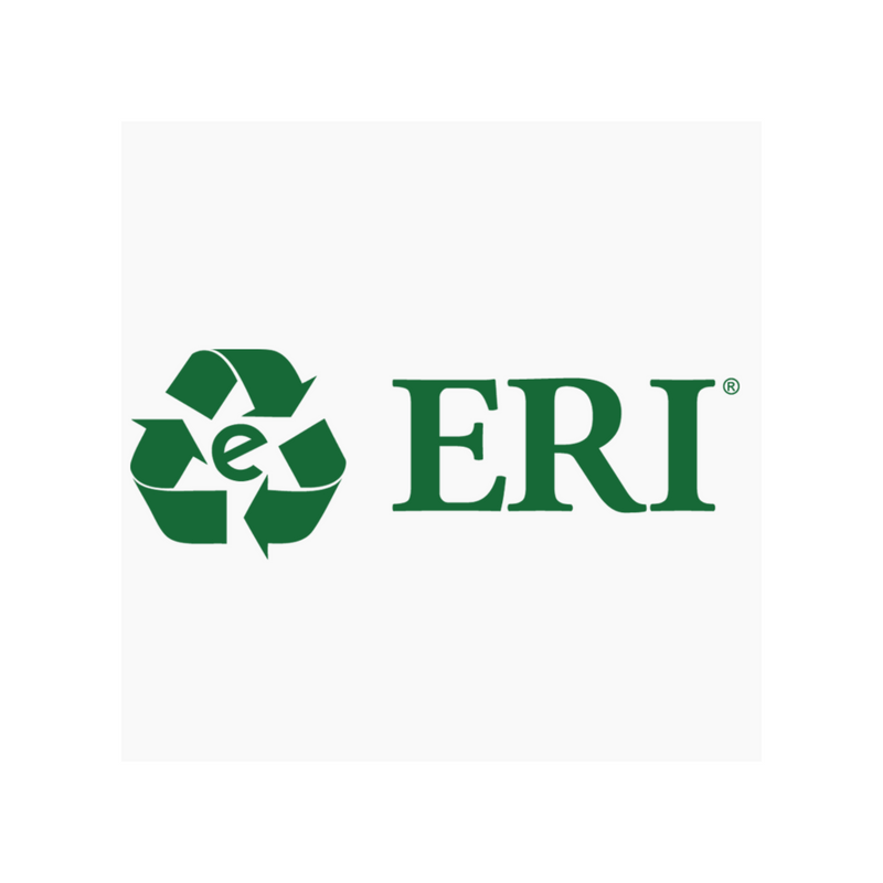 Electronic Recyclers International   ERI works with us to collect electronic waste from our e-waste drives. They are the leading recycler of e-waste in the United States and are committed to sustainability.