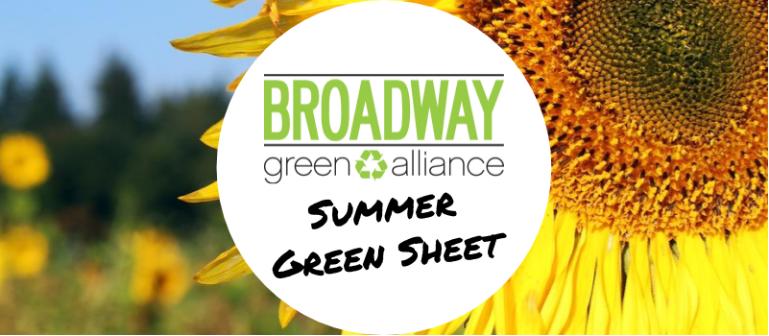 Summer 2016 Green Sheet (Issue 28)