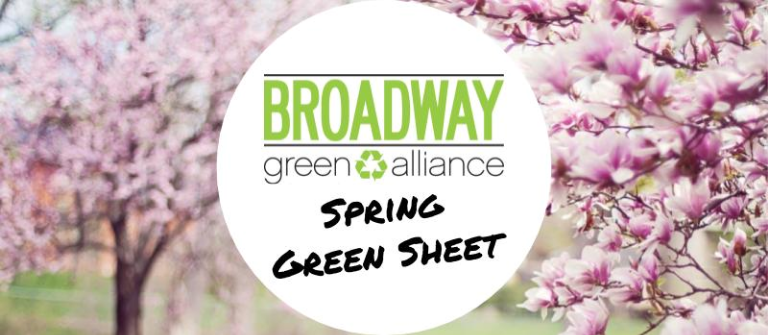 Spring 2016 Green Sheet (Issue 27)