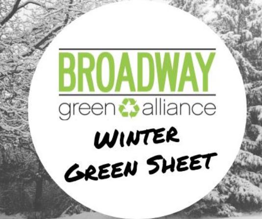2019 Winter Green Sheet (Issue 38)