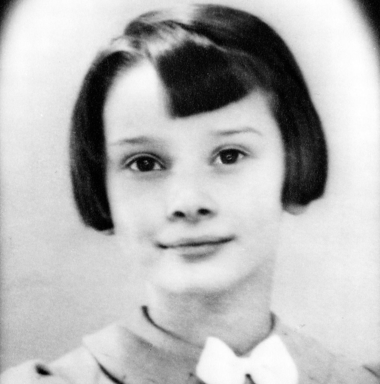 Audrey Hepburn as a child