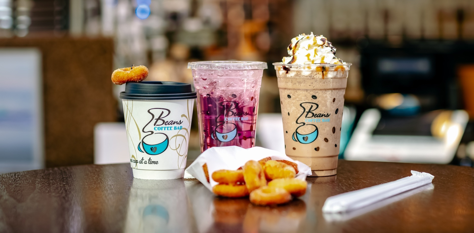 Signature drinks by Beans Coffee Bar downtown fargo.jpg