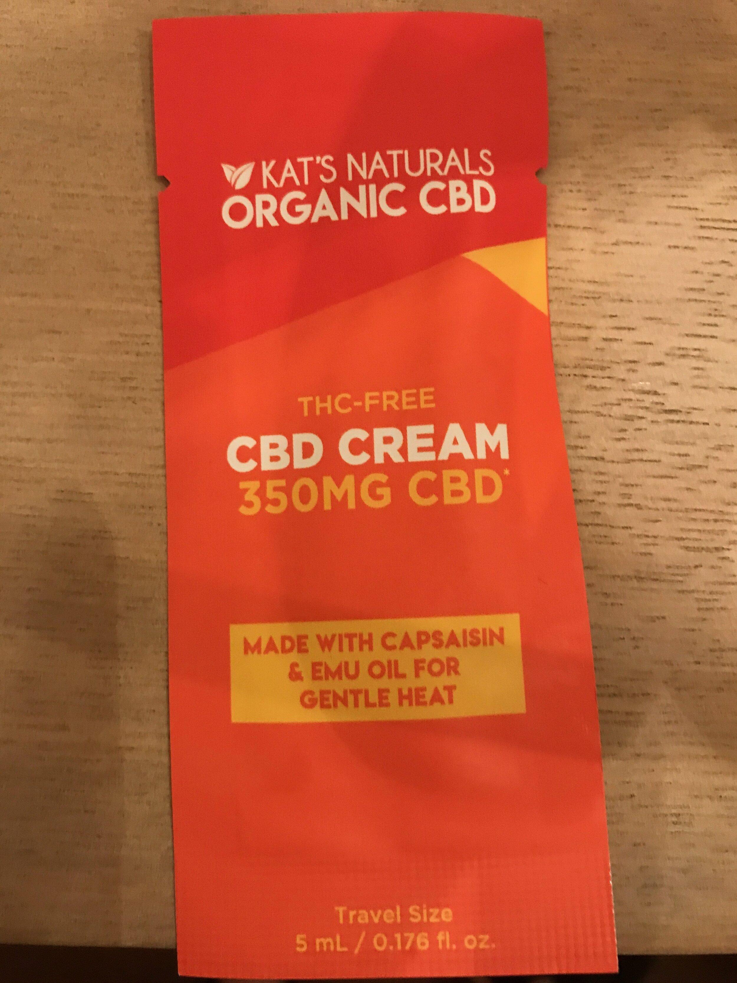 CBD cream Todd used after golf