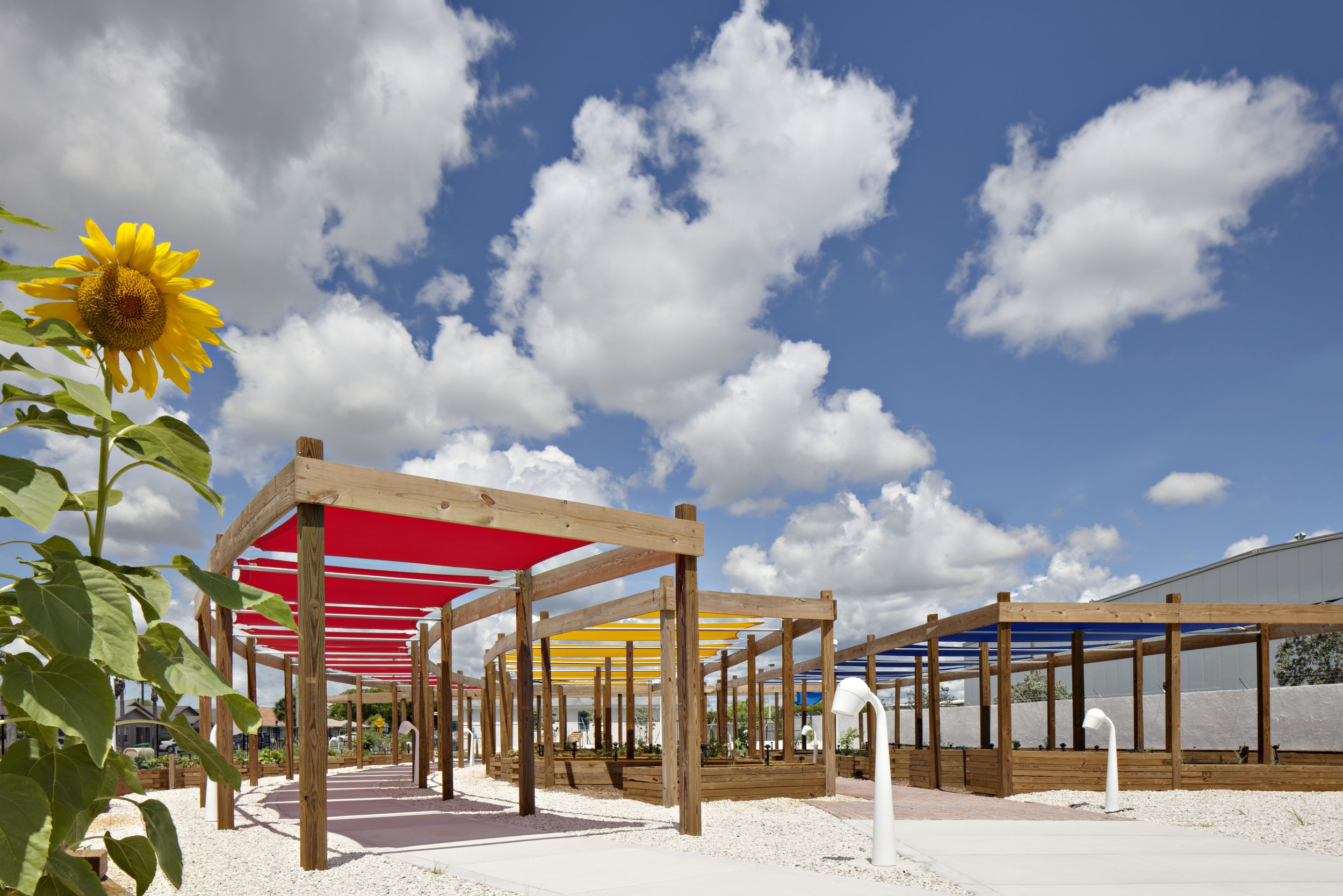 Riviera Beach Heights Neighborhood Community Garden -