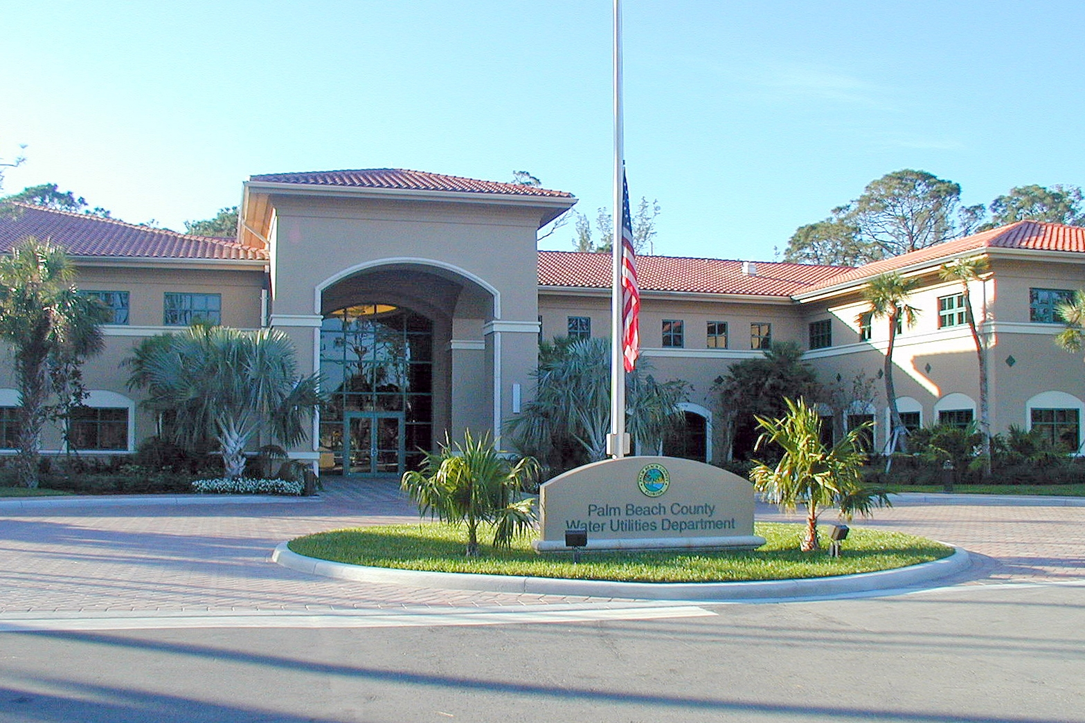 PBC Water Utilities Dept. Central Regional Operations + Maintenance Center -
