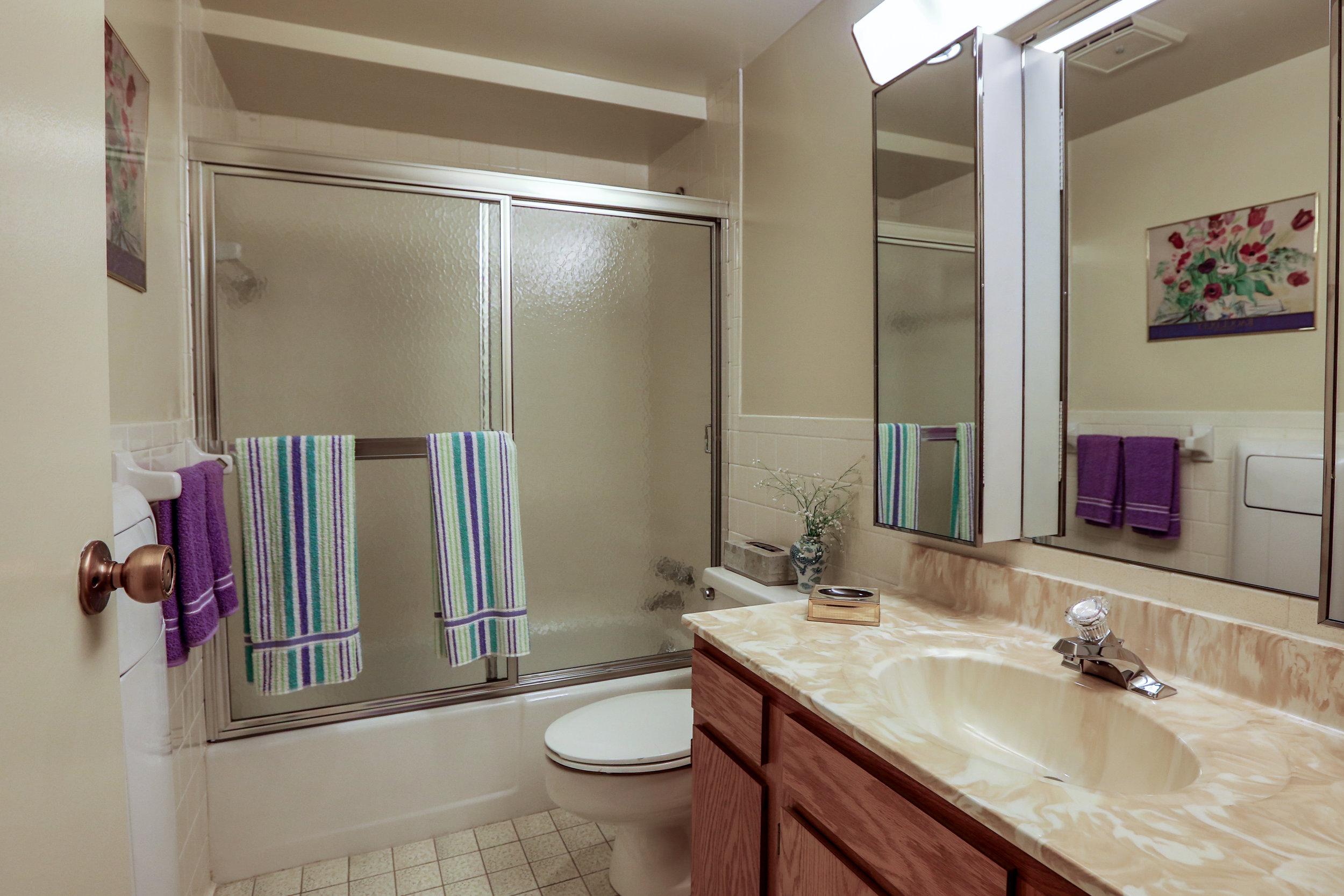 Classic Tiled Bathroom