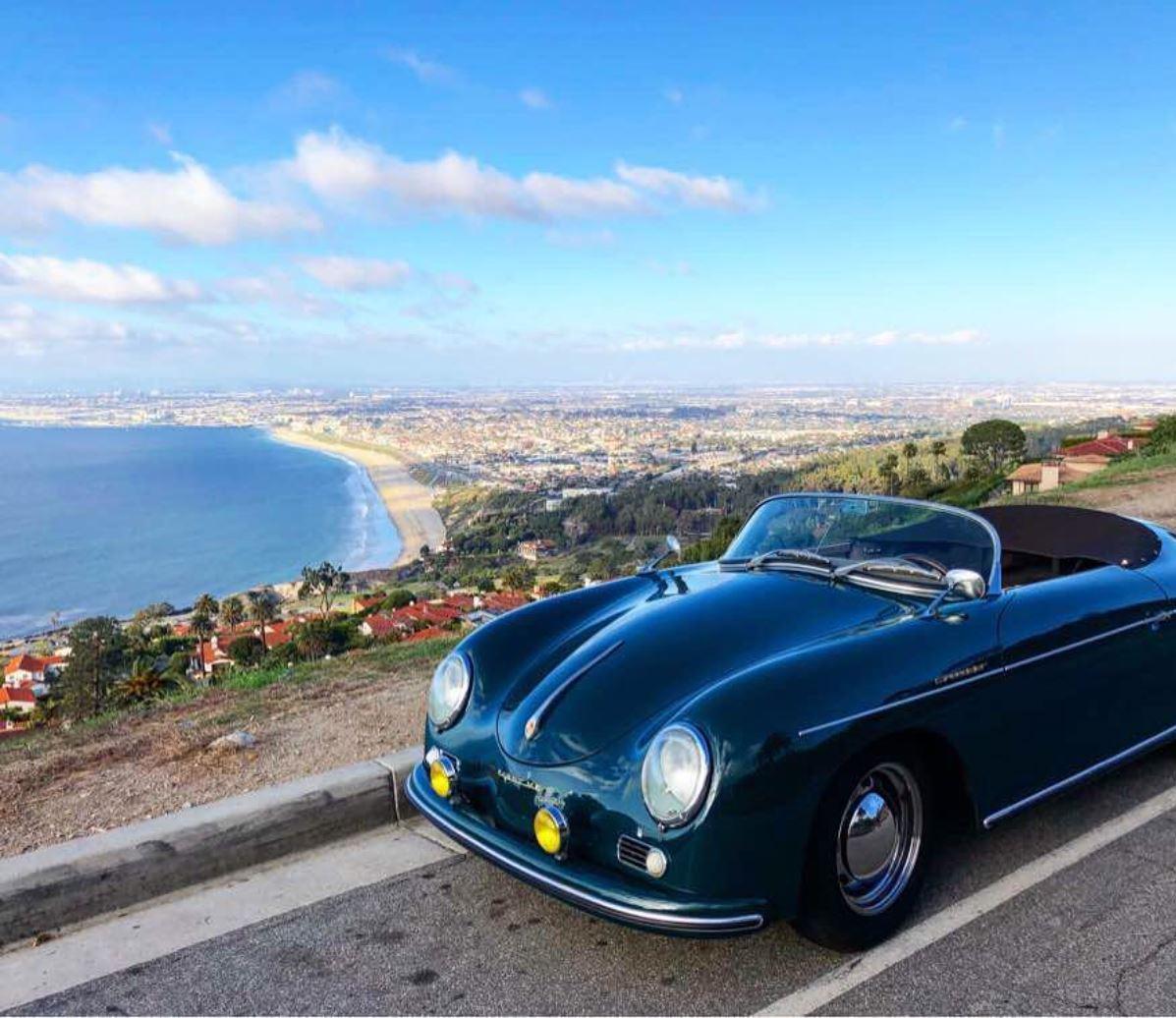 Copy of 19'56 Porsche 356 Speedster Tribute in Palos Verdes