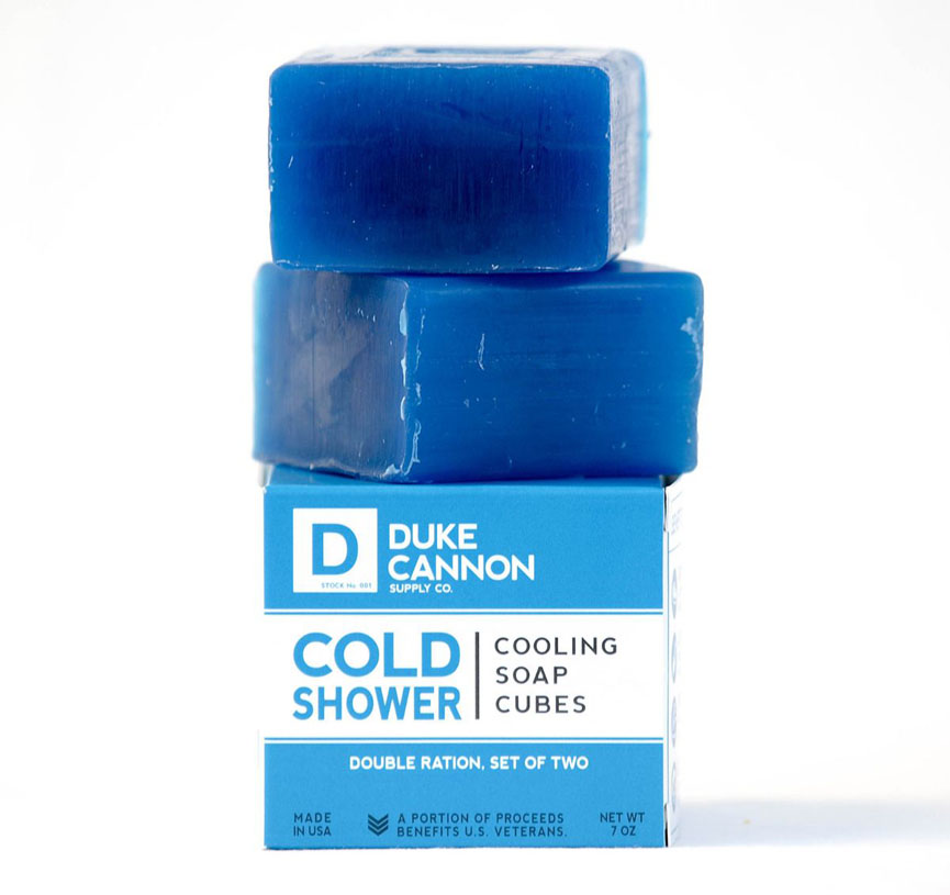 Duke Cannon Cold Shower Cooling Cubes