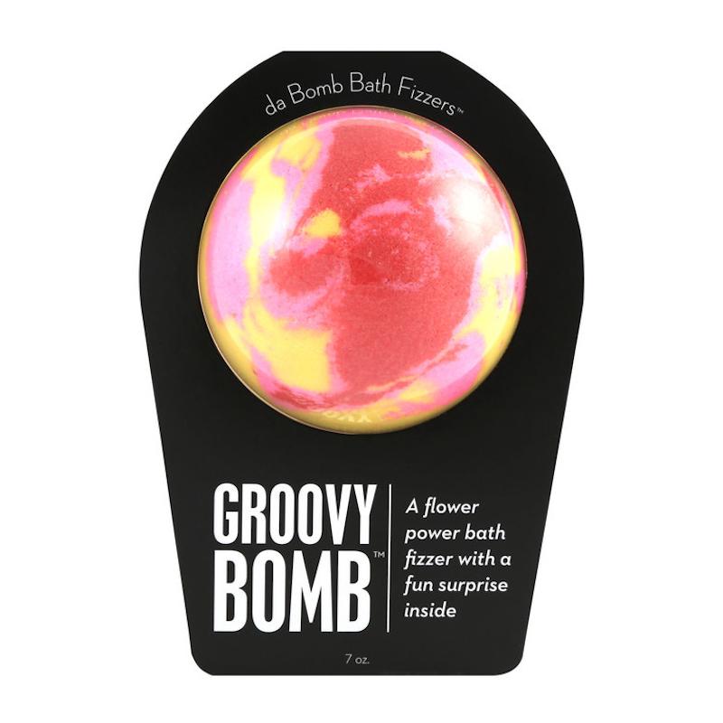 Da Bomb Groovy Bomb Bath Fizzer