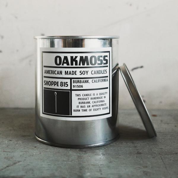 Shoppe 815 Oakmoss Soy Candle