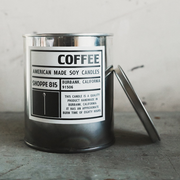 Shoppe 815 Tin Can Soy Candles
