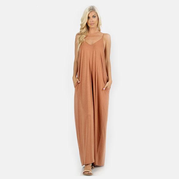 V-Neck Cami Maxi Dress