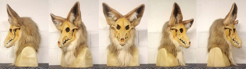 """""""CLEMENTINE"""" Coyote Skull Monster"""