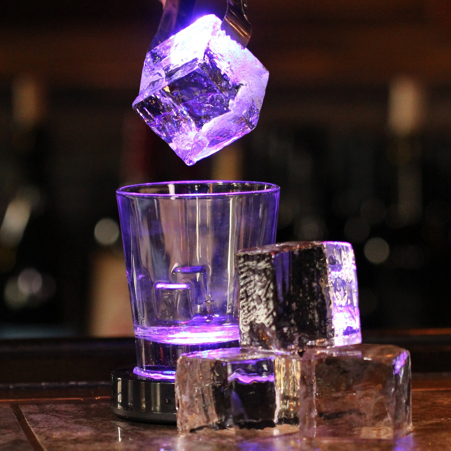 - Cocktail cubes