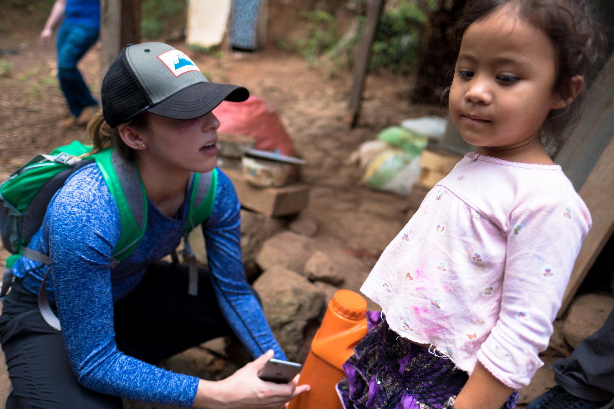 Honduras 18 day 2 Noey and little girl.jpg