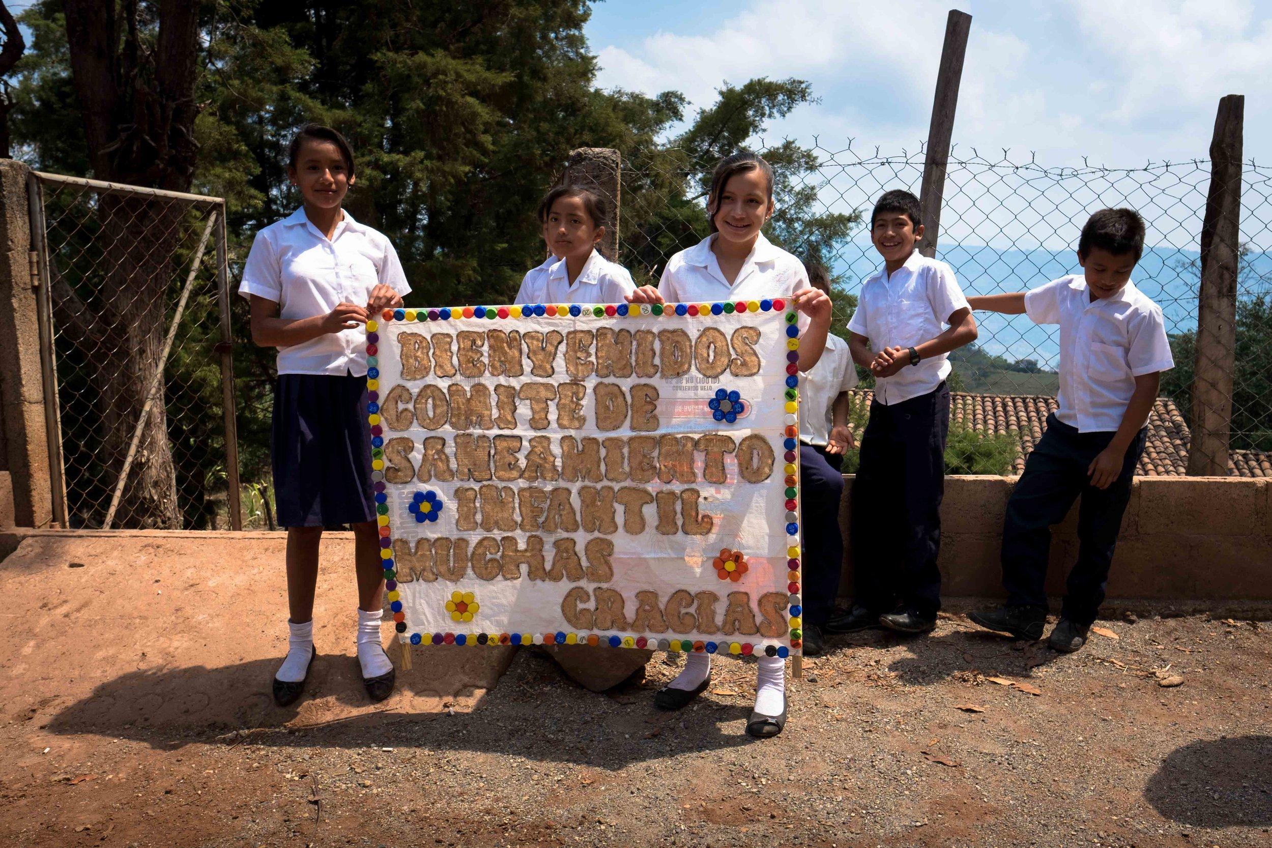 Honduras 18 day 2 welcome sign.jpg