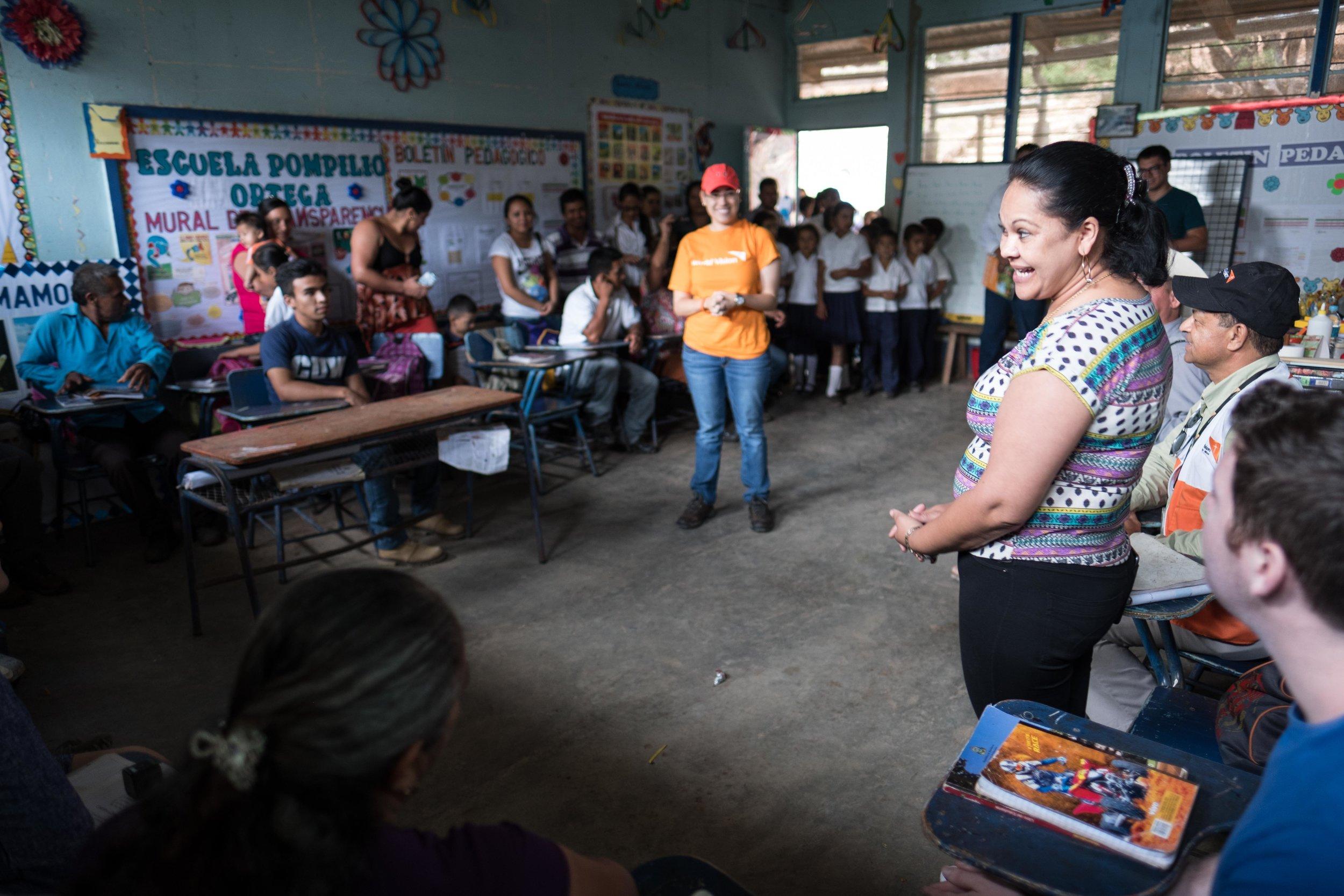 Honduras 18 day 2_teacher talks in Pueblo Viejo classroom.jpg