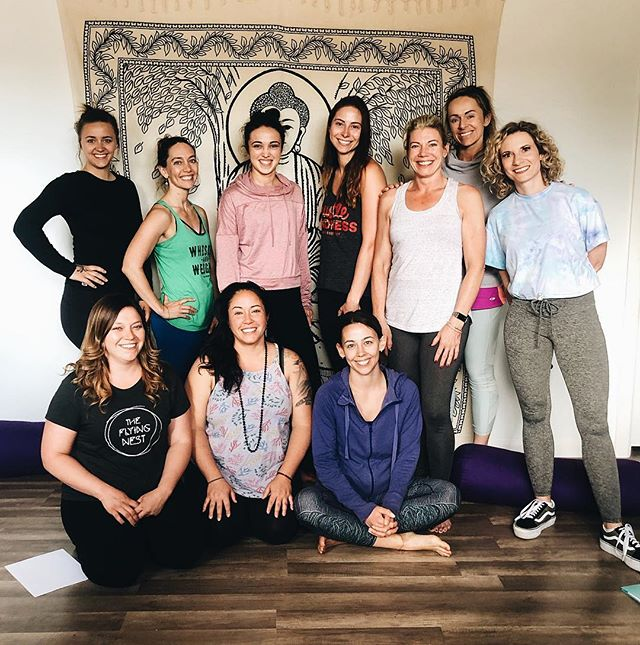 Reiki Level 1 certified! Thanks so much to Alana with @wildroots_wellness for making your way down and spending your weekend with us!