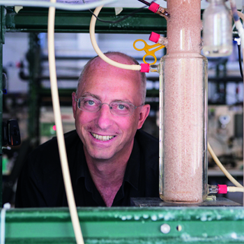 Mark, a Professor at Delft University of Technology, is water technology expert with specialisation in research related to Environmental Biotechnology, Resource Recovery and Water and Wastewater Technology Process development.