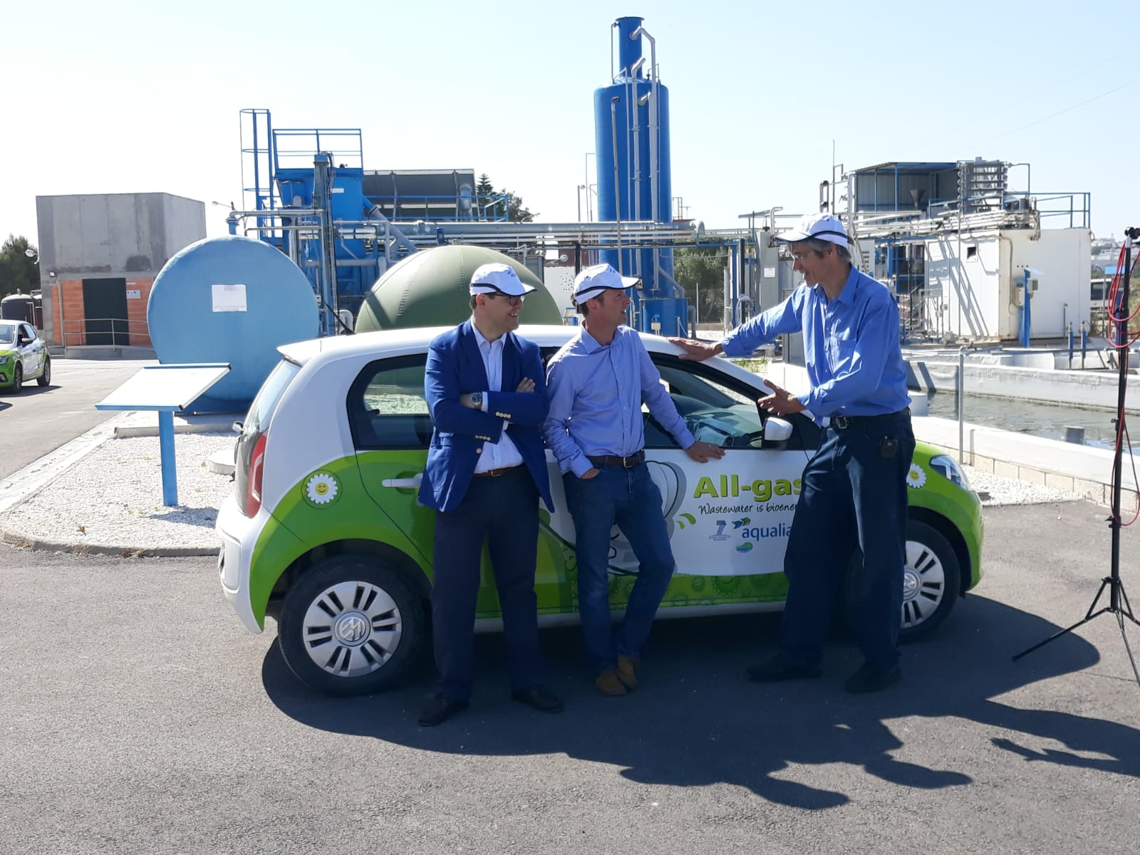 All-Gas EU Project, City of Chiclana,  Cadiz, Andalucia in Spain