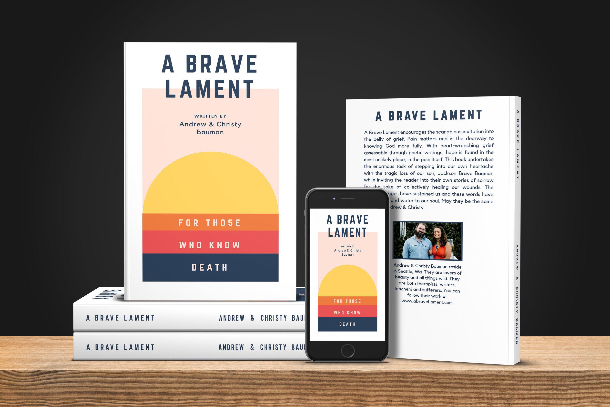 A Brave Lament Book