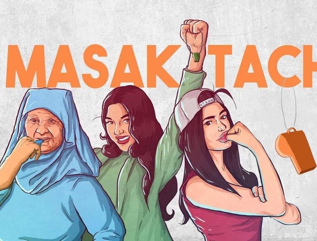 I love the energy in  Masaktach 's logo!