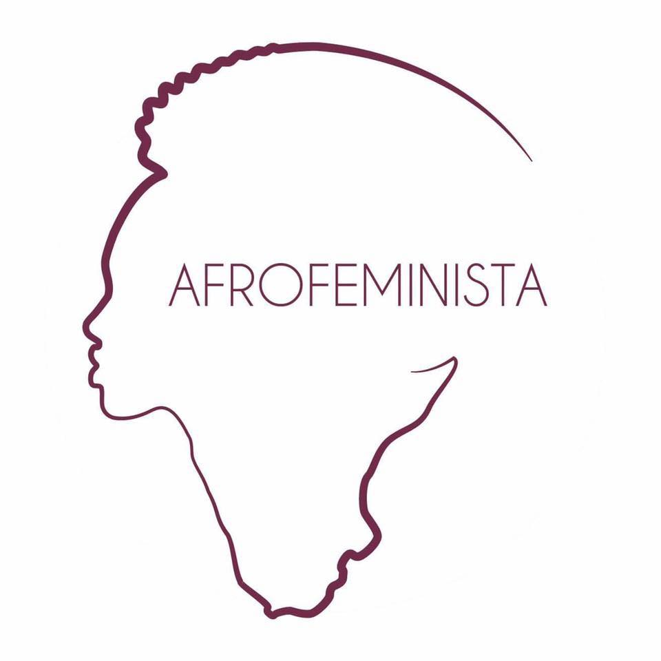 This is the logo of Aichatou's blog,  AFROFEMINISTA . Loving the elegant lines! PHOTO credit: AFROFEMINISTA, obviously.