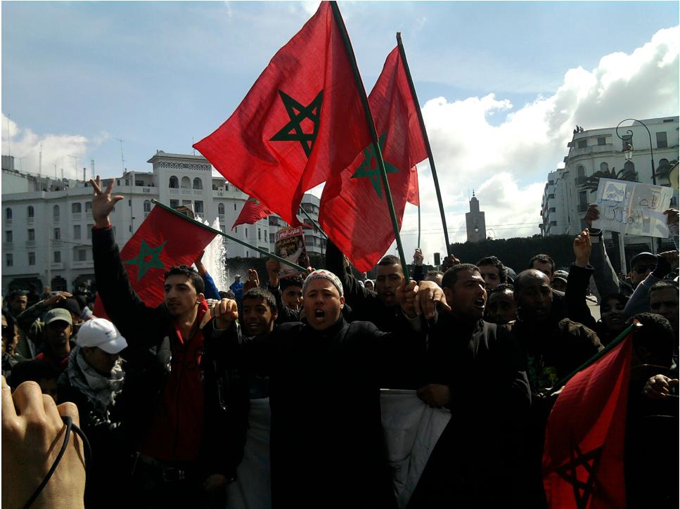 2011 protests in Casablanca