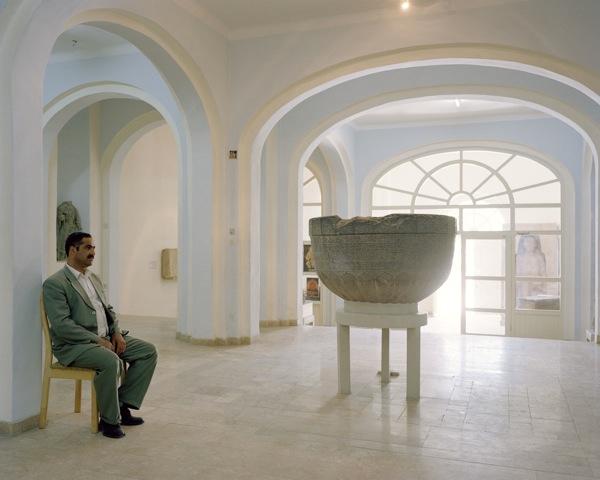 Leon Chew, Inside the Kabul Museum, 2011