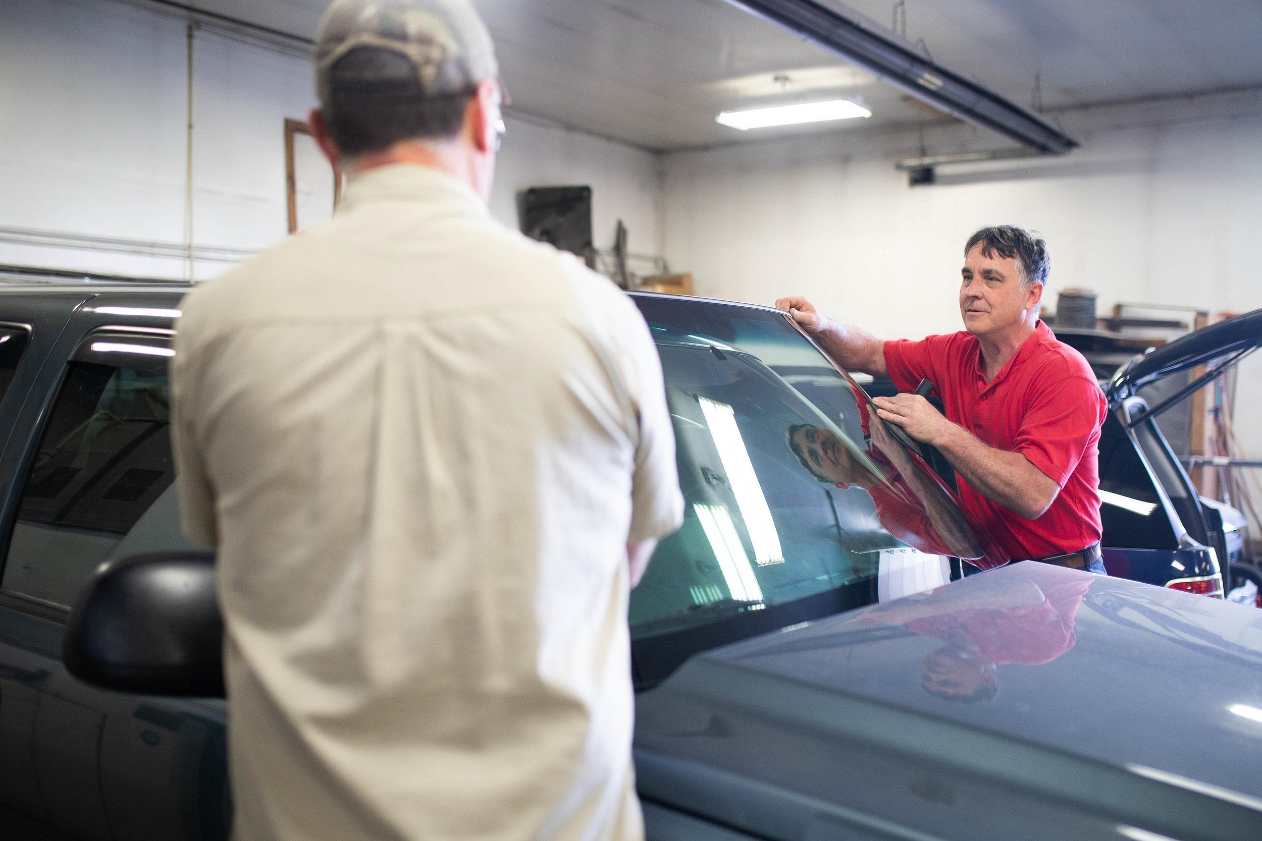 Joe's Body Shop Auto Glass Repair Services