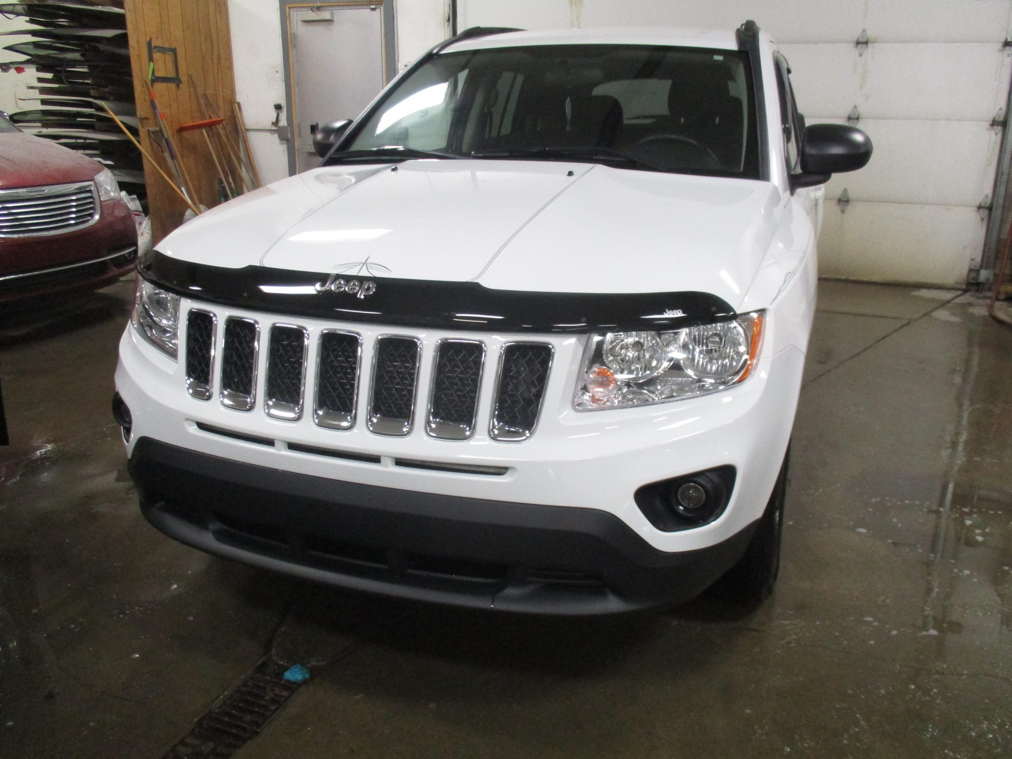 White Jeep - After