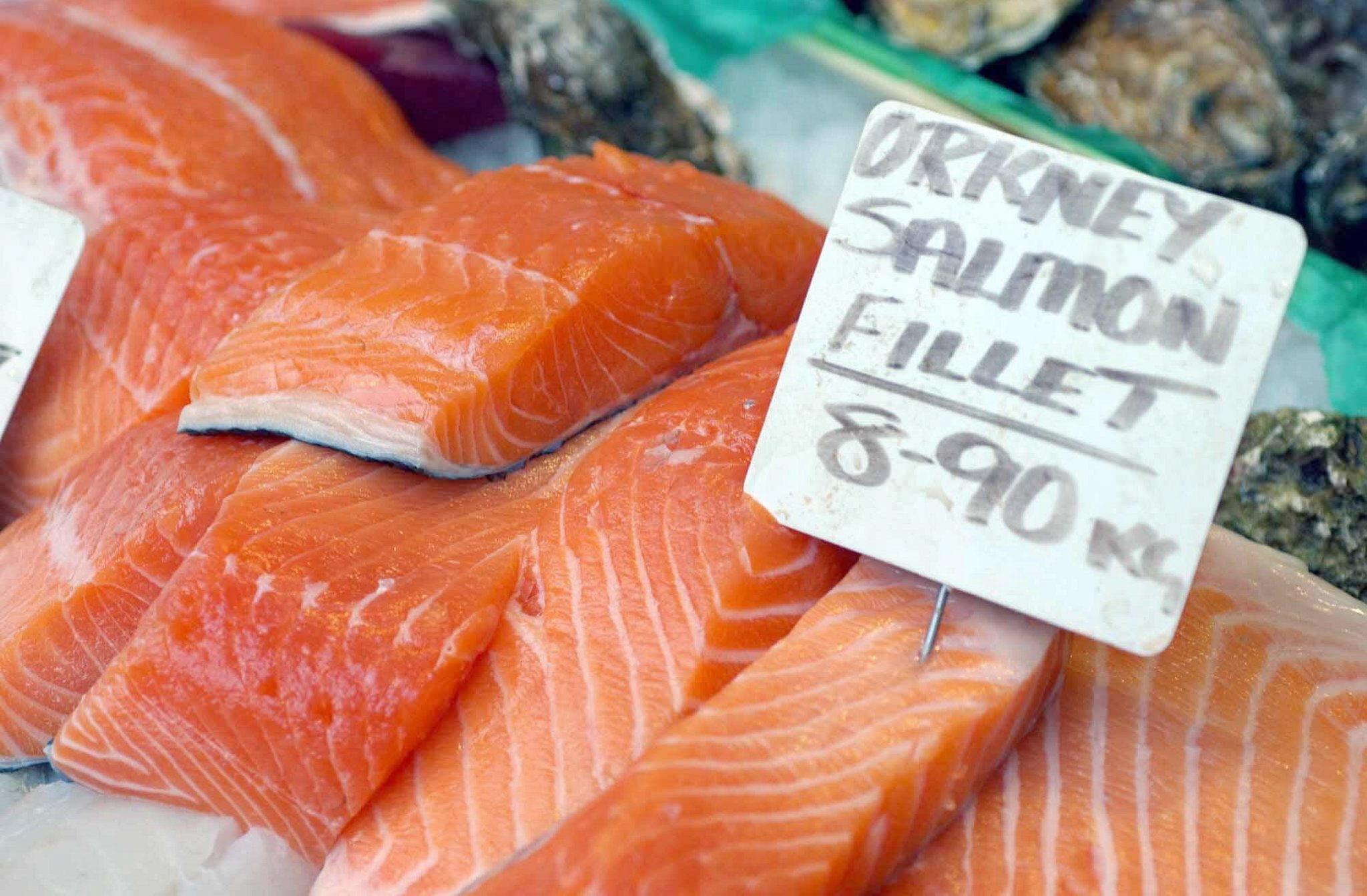 El salmón es una fuente de los ácidos grasos omega 3, muy bueno para la salud. Foto: Matt Writtle