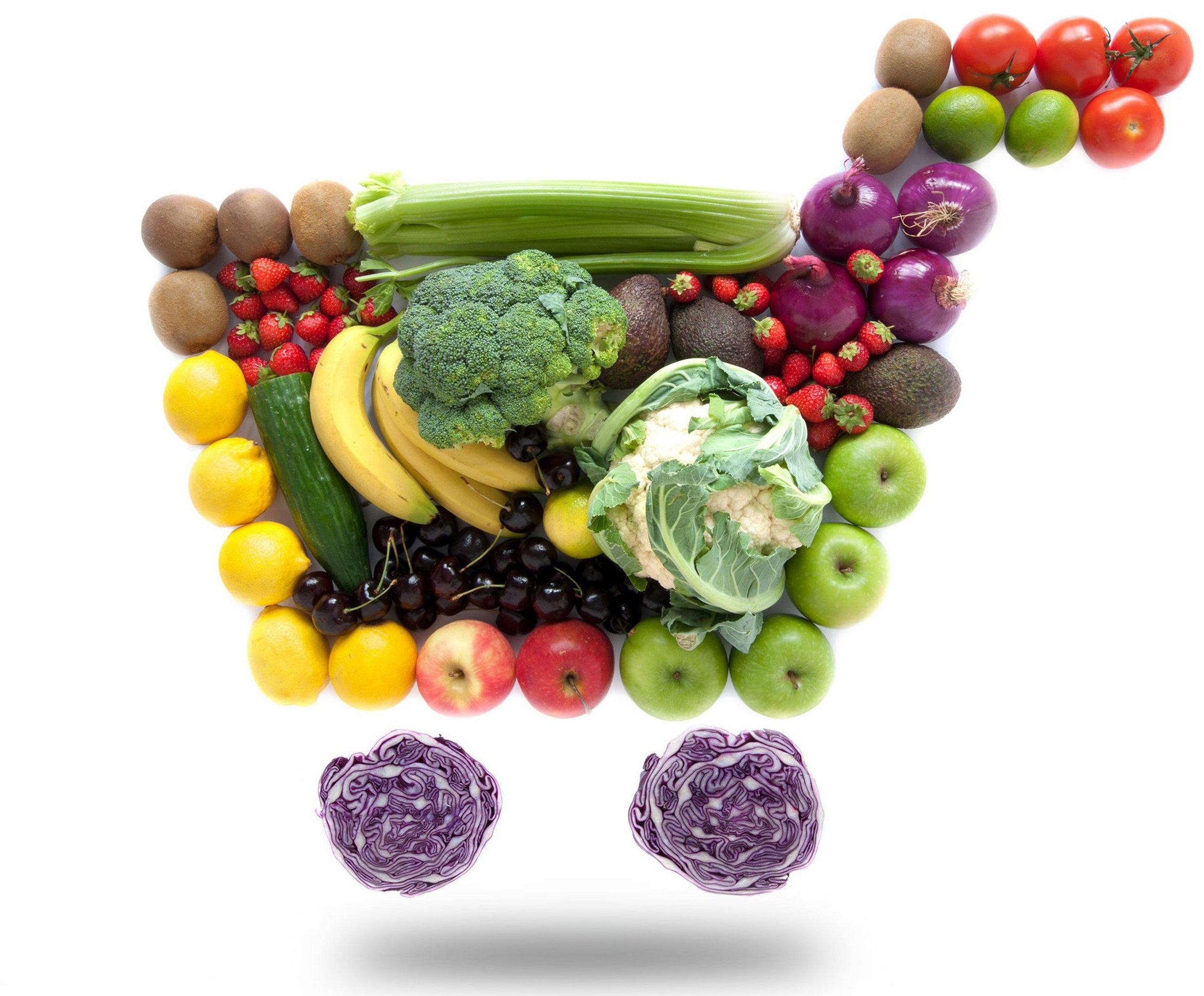 En el carrito de la compra no olvide poner siempre alimentos +. Foto: IMEO